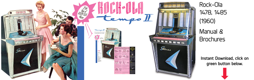 "Rock-Ola 1478 1485 ""Tempo II"" (1960) Manual"