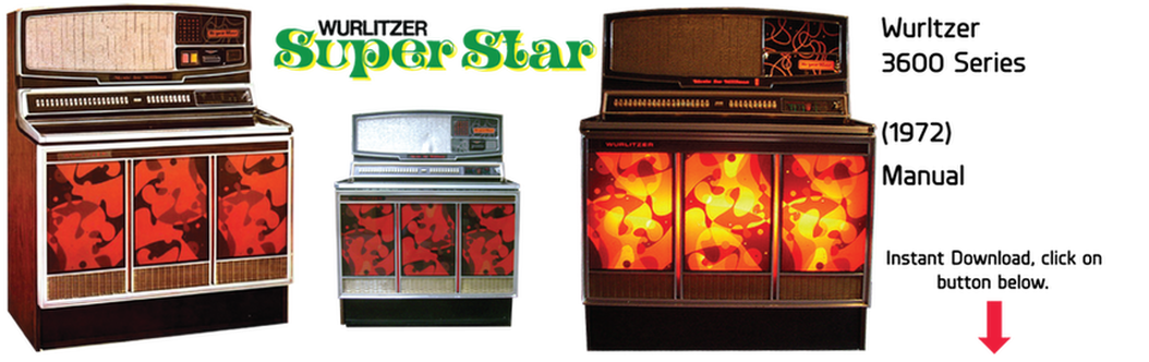 "Wurlitzer 3600 Series ""Super Star"" (1972) Manual"