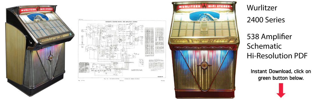 Wurlitzer Jukebox Manuals  U0026 Literature  Instant Pdf Downloads