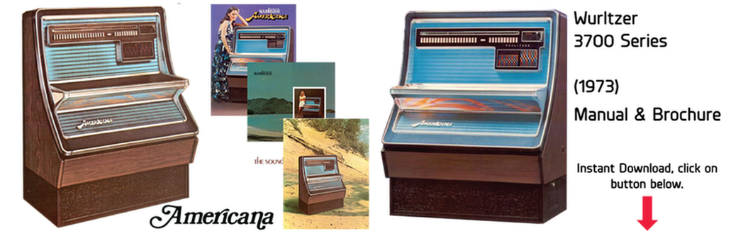 "Wurlitzer 3700 Series ""Americana"" (1973) Manual"