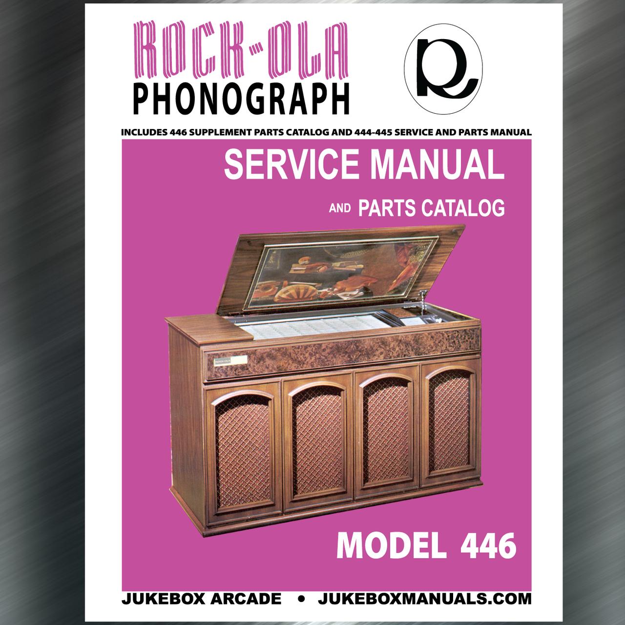 Rock Ola Jukebox Manuals Literature Instant Pdf Downloads Jukebox Arcade