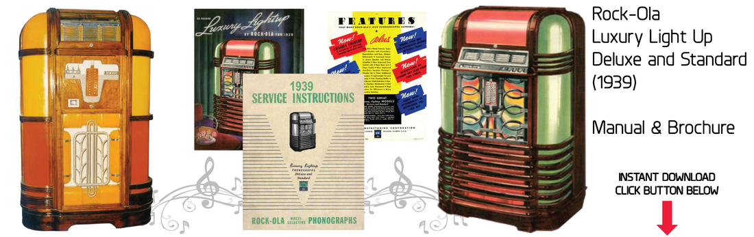 Rock-Ola Deluxe Luxury Lightup (1939) Brochure